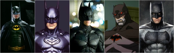 All Batman Versions