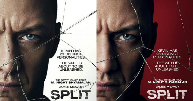 Split (2017) You never know what's going on in someones heads ...