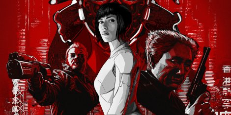 Ghost In The Shell 2017 Reel Time Flicks