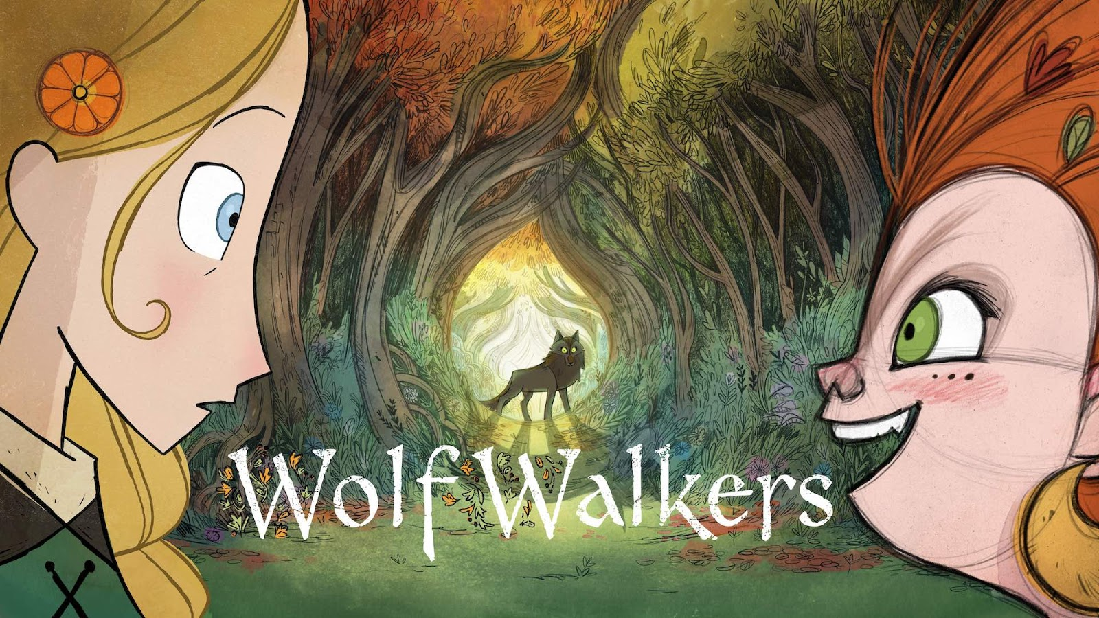 The Movie Sleuth: Women Who Run with the Wolves: Wolfwalkers (2020) Reviewed
